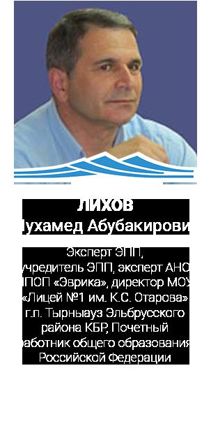 ЛИХОВ Мухамед Абубакирович