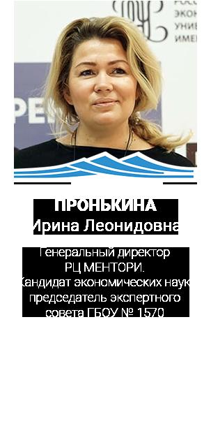 ПРОНЬКИНА Ирина Леонидовна